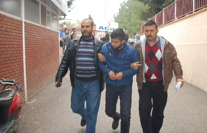 Adıyaman'da Mazot Hırsızı Tutuklandı