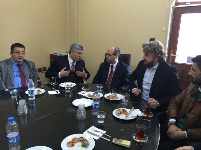 Günnar'dan İnşaat Mühendisleri Odası'na Ziyaret