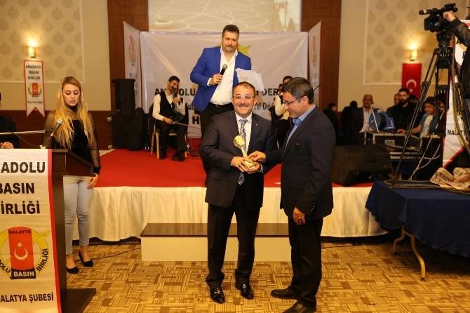 Mehmet Fatih Güven'e Yılın Belediye Başkanı Ödülü