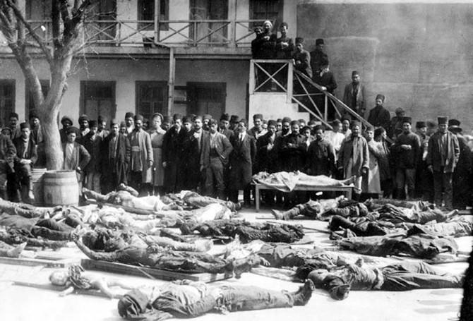 31 Mart Azerbaycanlıların Soykırımı Günü