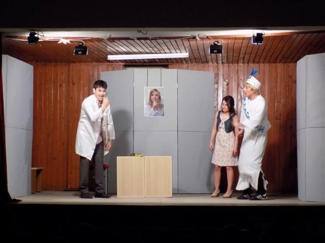 Ulus'ta Dünya Tiyatro Günü Coşkuyla Kutlandı