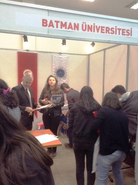 Batman Üniversitesi 13. Mersin Yükseköğretim Günlerine Katıldı