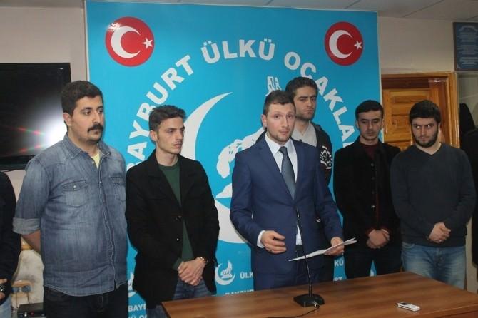 Bayburt Ülkü Ocakları İl Başkanı Muhammet Kılıç: