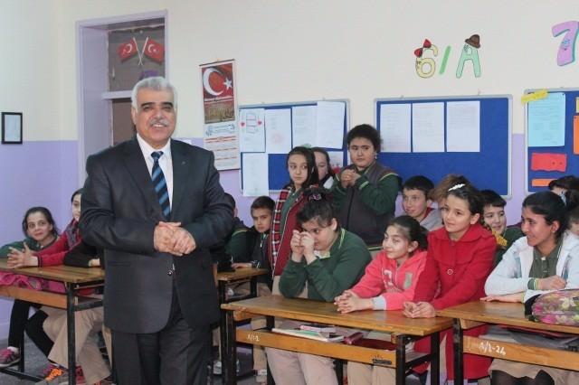İl Müftüsü Akkuş'ttan Bayırköy Beldesi Orta Okulu'na Ziyaret