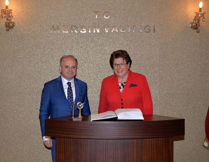 Bavyera Eyaleti Meclis Başkanı Stamm'dan Vali Çakacak'a Ziyaret