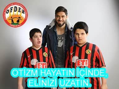Eskişehirsporlu Futbolcular Otizme Dikkat Çekti
