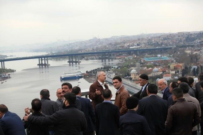 Ahlatlı Muhtar Ve Encümenler İstanbul Gezisi