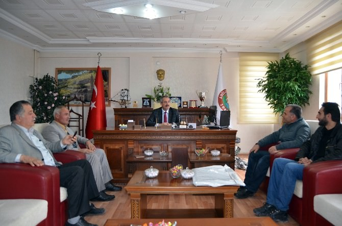 Belediye Başkanı Gürsoy Çalışmalarını Anlattı