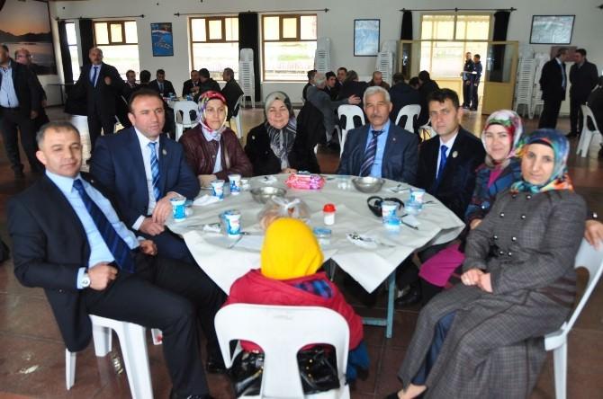 Başkan Şengöl'den Şehit Aileleri Ve Gazilere Yemek