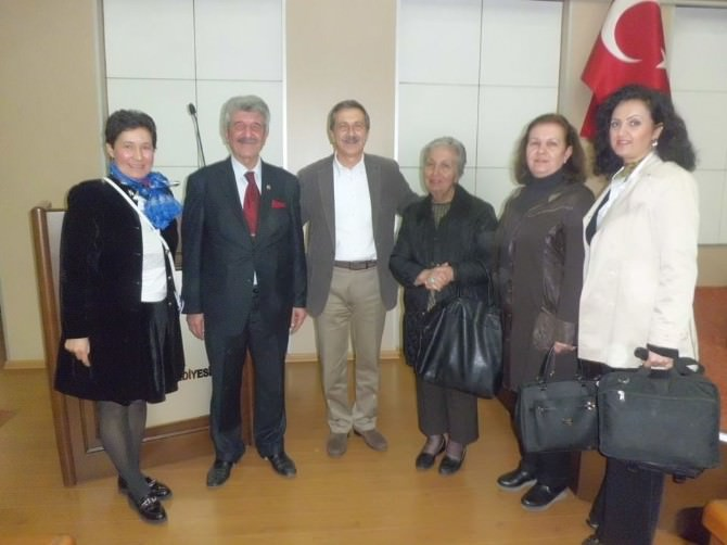 Esküder'den Tepebaşı Belediye Başkanı DT. Ahmet Ataç'a Nezaket Ziyareti