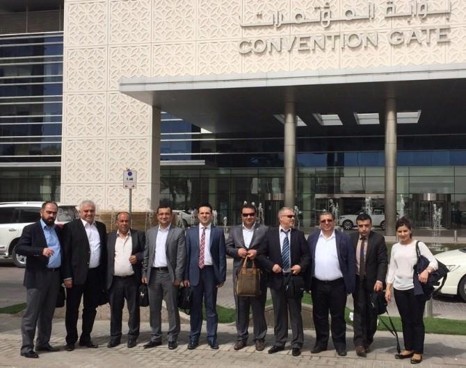 GTO Üyeleri, Ortadoğu Yüzey Kaplama Ve Kimya Fuarı'na Katıldı