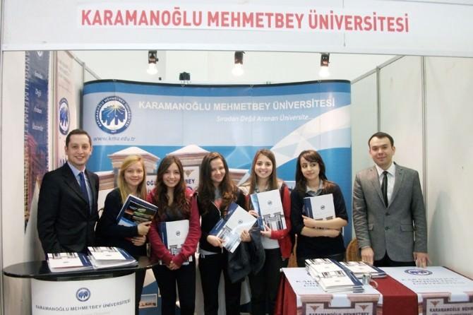 KMÜ, Mersin'de Üniversite Tanıtım Fuarına Katıldı