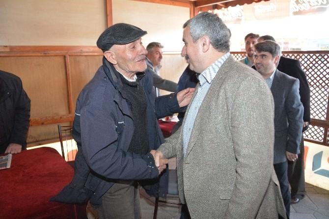 Başkan Baran Fatih Mahallesini Ziyaret Etti