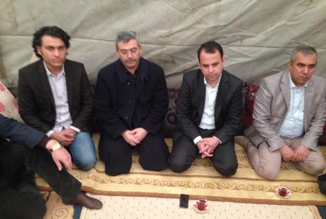 Mardin'de Köy Ziyaretleri Sürüyor