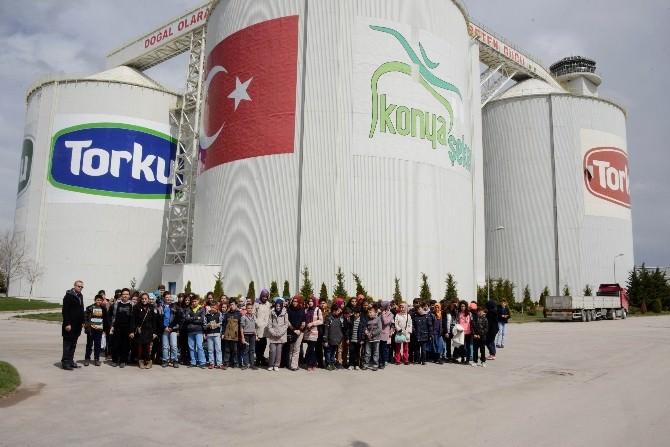 Bilgi Merkezi Öğrencileri Çumra'da