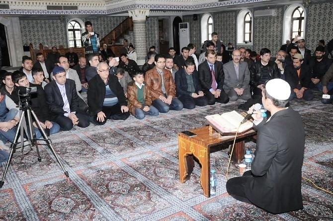 Batman'da Kur'an-ı Kerim'i Güzel Okuma Yarışması Yapıldı