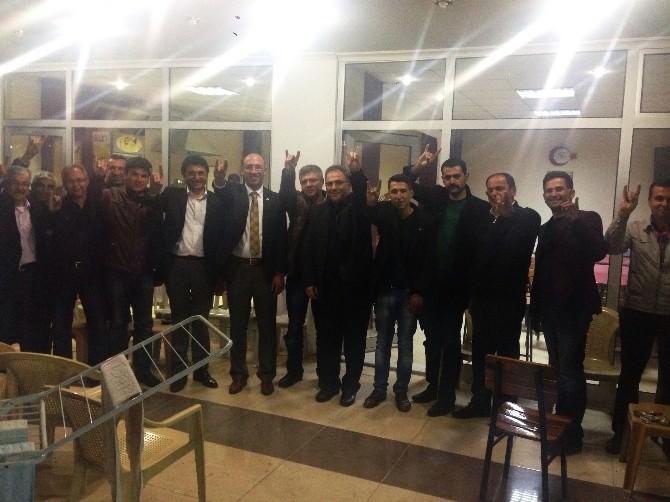 MHP'li Özbayram Sarıgöl'de İlgiyle Karşılandı