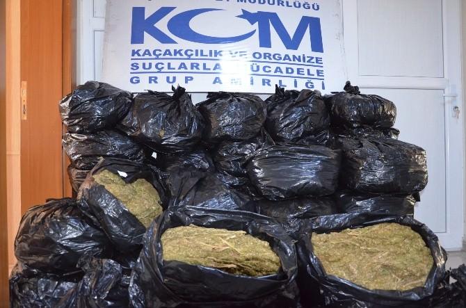 Şanlıurfa'da 252 Kilo Esrar Maddesi Ele Geçirildi