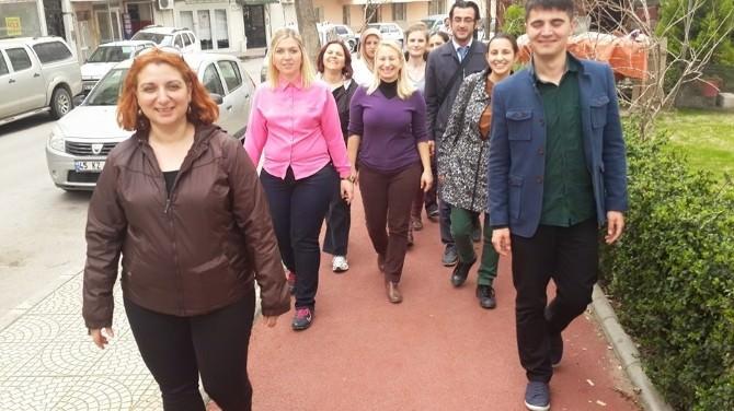 Şehzadeler Toplum Sağlığı Merkezi'nden Sağlıklı Yürüyüş
