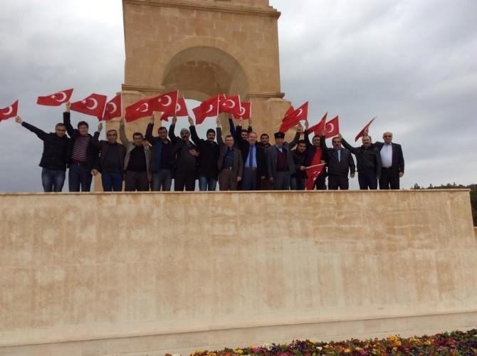 Başkan Şahiner Ve Ekibi Çanakkale'yi Gezdi