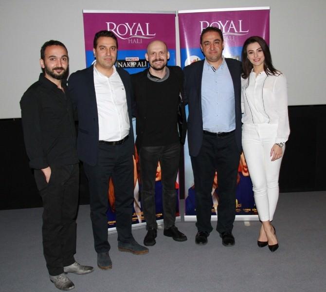 Royal Halı, Güvercin Uçuverdi Filminin Oyuncularını Gaziantepli Sinemaseverlerle Buluşturdu