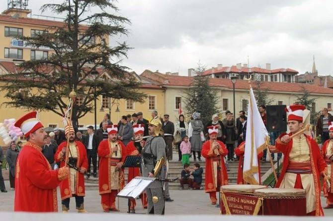 Osmanlı Ocakları Açılışında Küre-i Nühas İstiklâl Yolu Mehter Takımı Büyük Beğeni Topladı
