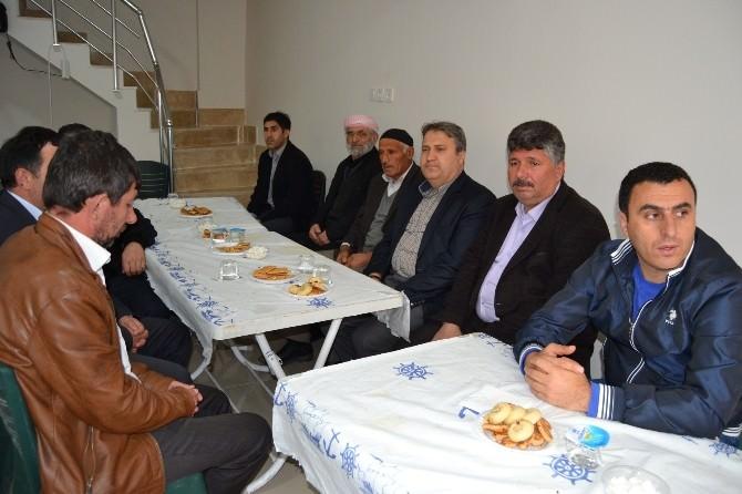 Başkan Çerçi'den İş Adamı Kara'ya Taziye Ziyareti