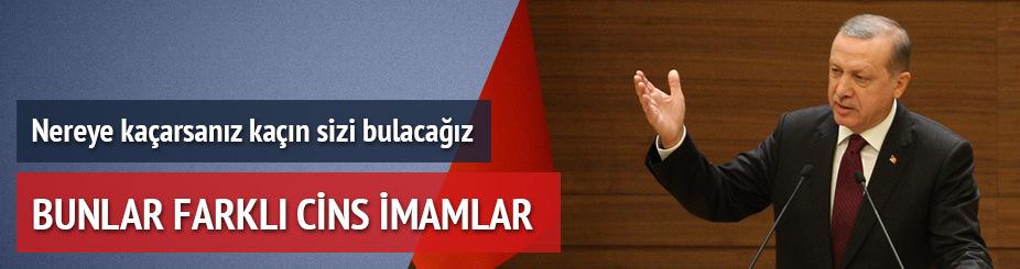 Erdoğan: İnlerinden çıkarıyoruz