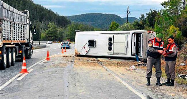 Turist kaza kurbanı