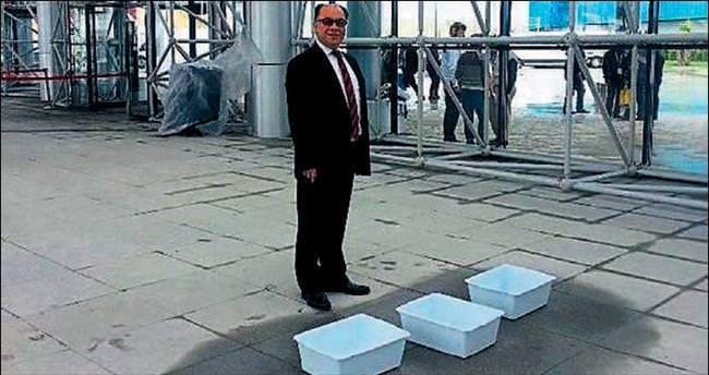 Fuar İzmir'de ikinci el malzeme iddiası