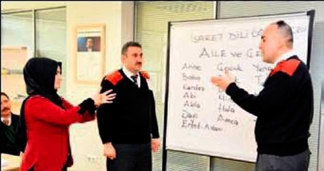 ANFA Güvenlik'ten işaret dili eğitimi
