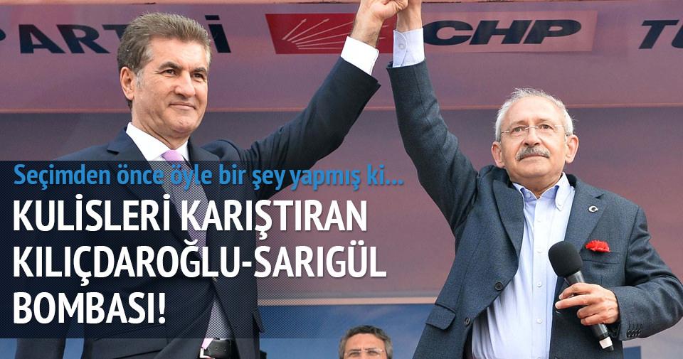 Kulisleri karıştıran Kılıçdaroğlu-Sarıgül iddiası