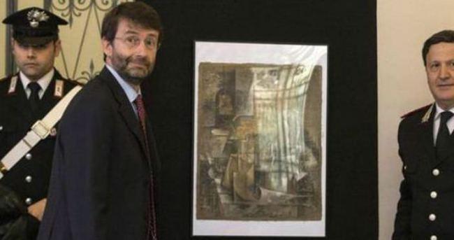 Kayıp Picasso tablosu satılmak üzereyken bulundu
