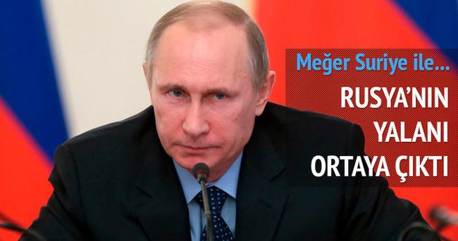 Rusya'nın yalanı ortaya çıktı