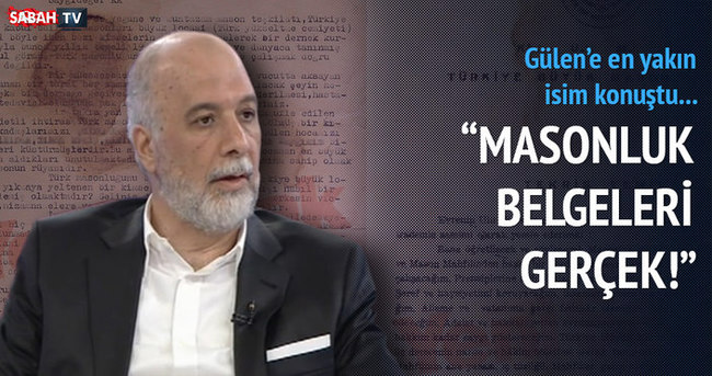 Latif Erdoğan: Masonluk belgeleri gerçek