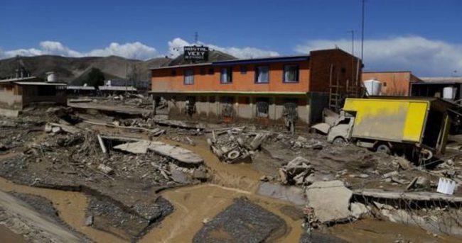 Şili'de sel faciası: 18 ölü