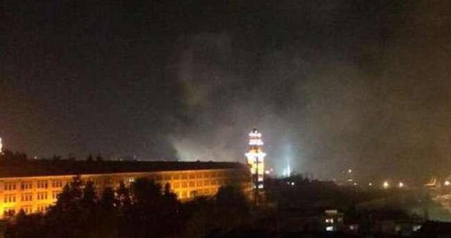 Selimiye Kışlası'nda yangına yalanlama