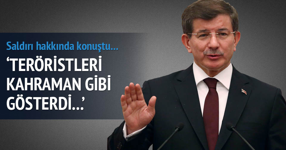 Başbakan Davutoğlu'ndan 'saldırı' açıklaması