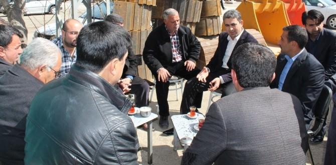 AK Partili Şahin'den Sanayi Esnafına Ziyaret