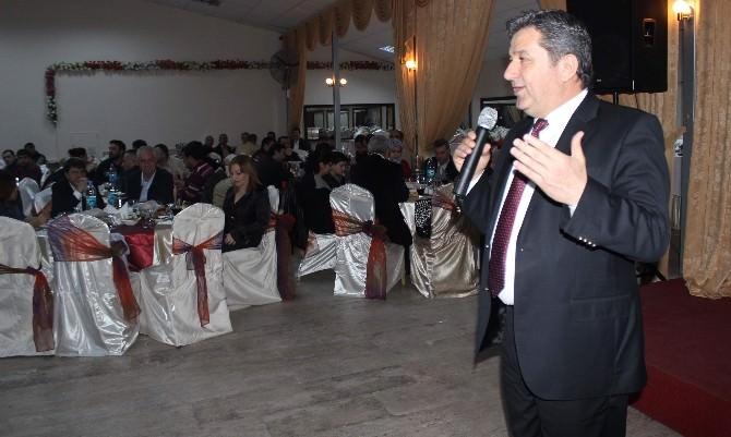 Aydın'da Kalorifer Yakıcıları Düzenlenen Gecede Yılın Yorgunluğunu Attı