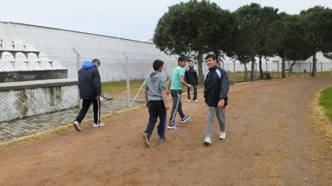 Burhaniye'de Özel Sporcuların Hedefi Şampiyonluk