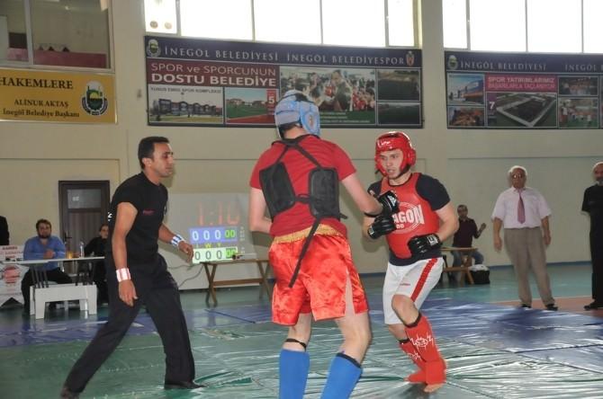 İnegöl'de Karma Spor Sanatları Müsabakaları Sona Erdi
