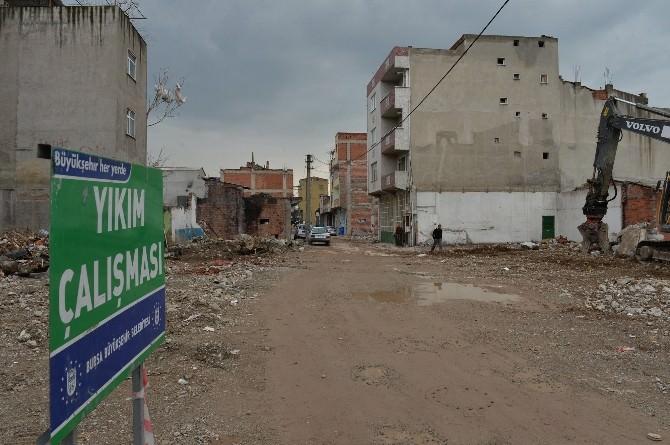 Bursa'nın Yeni Bulvarı Adım Adım Açılıyor