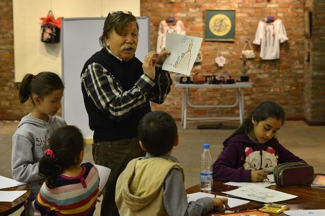 Çocuklar Karikatür İle Tepebaşı'nda Buluşuyor