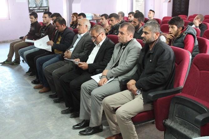 Cudi Ekoloji Ve Kültür Derneği'nden Değerlendirme Toplantısı