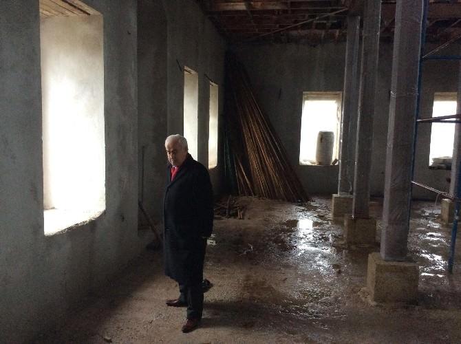 Edirne Valisi Şahin, Hasan Sezai Dergahında İncelemelerde Bulundu