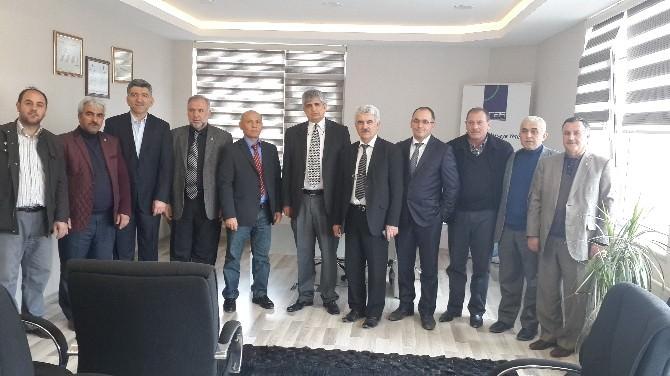 Elektrikçiler Ve Elektronikçiler Federasyonu Başkanı Yeşilyurt'tan Aras EDAŞ'a Zıyaret