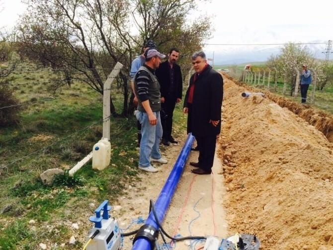 Ereğli Belediyesi'nden 2 Bin Tonluk Su Deposu