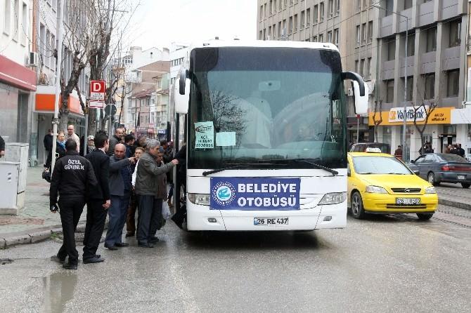 Acil Durum Otobüsleri Devrede