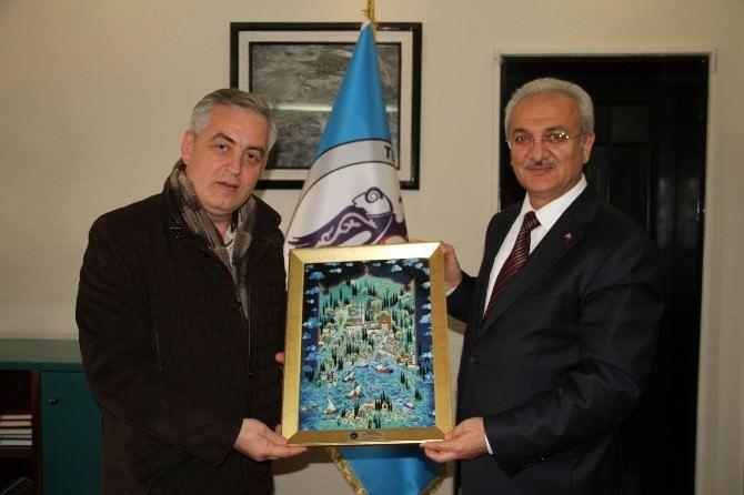 Eyüp Belediye Başkanından Erzincan Belediyesine Ziyaret